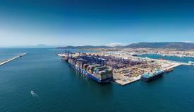 El Puerto de Algeciras cierra el primer semestre con un 4% menos de actividad