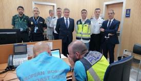 Lucrecio Fernández supervisa en Algeciras el inicio de la Operación Minerva'19