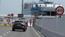 La OPE afronta el primer fin de semana de gran afluencia en las carreteras de acceso a Algeciras