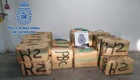 Tres detenidos por el transporte de hachís a una 'guardería' en Algeciras