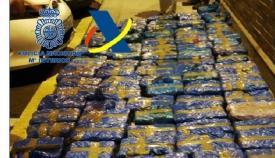 Aprehendidos 1.180 kilos de hachís en un pesquero en el puerto de Algeciras