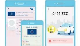 La DGT lanza una app para poder llevar el permiso de conducir en el móvil