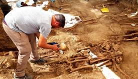 Localizados restos óseos de diez víctimas del franquismo en Jimena