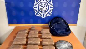 Dos detenidos en Algeciras por introducir diez kilos de hachís en moto de agua