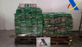 Incautados en Algeciras 1.600 kilos de cocaína en un contenedor