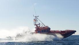 Rescatada en Algeciras una persona que había caído al agua