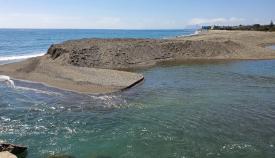 Ecologistas alertan de un nuevo 'cierre' de la bocana del río Guadiaro