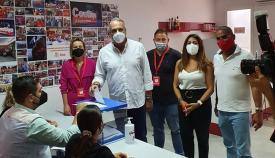 Ruiz Boix pide a militancia del PSOE que vote 'libremente' su representación en el Congreso Federal