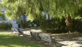 Una foto de los jardines Saccone de La Línea. Foto: NG