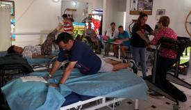 Imagen de la sala de rehabilitación de ADEM-CG