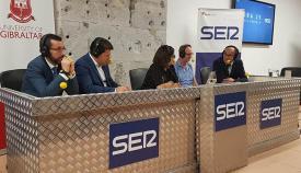 Franco, Picardo, Verdú y Periáñez, alrededor de la presentadora de la SER