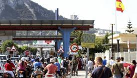 Imagen del acceso a Gibraltar