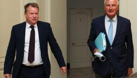 Frost es el negociador británico y Barnier el europeo. Foto EFE