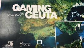 Uno de los folletos editado por el gobierno de la ciudad de Ceuta