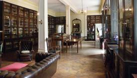 La biblioteca Garrison, escenario de algunas actividades