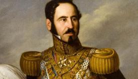 Retrato del general Baldomero Espartero en su época de regente