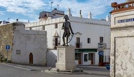 Monumento al general Copons en Tarifa