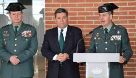 El general Pérez Martín, a la derecha, en una foto de archivo. Foto Salamanca RTV