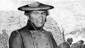 General Gómez. Retrato realizado por el pintor David Padilla
