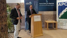 Gerardo Landaluce, en el acto de la APCG