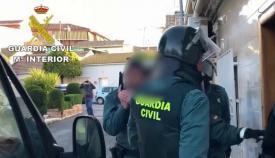 Una imagen de archivo de una operación de la Guardia Civil
