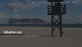Aspecto de la página de inicio de la nueva web