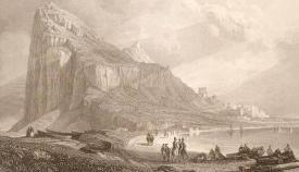 Grabado de David Roberts, 1835