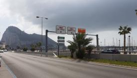 Accesos a Gibraltar para vehículos desde La Línea de la Concepción