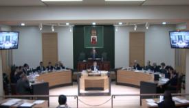 Intervención parlamentaria. Foto InfoGibraltar