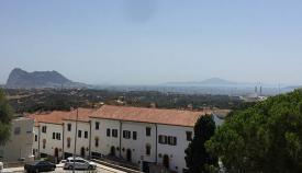 Gibraltar y la Bahía de Algeciras, desde San Roque. Foto NG