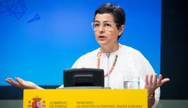 Arancha González Laya, ministra de Exteriores. Foto: NG