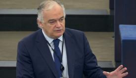 El popular Esteban González Pons, durante su intervención