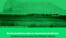 Parte de la portada de la edición digital de 'Cuadernos de Gibraltar/Gibraltar Reports'