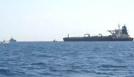El superpetrolero Grace One, interceptado cerca de Gibraltar