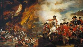 Gran Asedio a Gibraltar. Obra de John Singleton