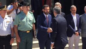 El alcalde de La Línea recibe al ministro