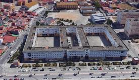 Una vista aérea de la barriada Gravia de La Línea