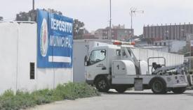 Grúa y depósito municipal de vehículos de Algeciras