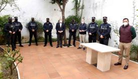 Presentada la nueva uniformidad en la URO de la Policía de Algeciras