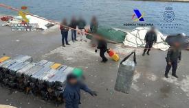 Una de las operaciones contra el narcotráfico de la Guardia Civil