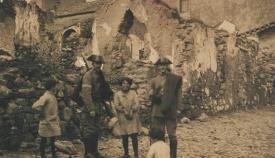 Agentes de la Guardia Civil en San Roque, 1927. Pérez Gavira (Archivo Municipal