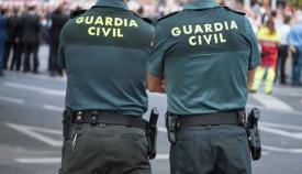 Dos agentes de la Guardia Civil. Foto: NG