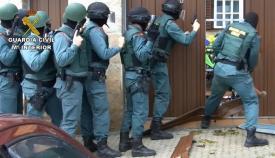 Una imagen de archivo de un registro de la Guardia Civil