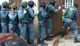 Imagen de archivo de una actuación de la Guardia Civil
