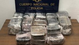 Este es el cargamento intervenido por la Policía Nacional