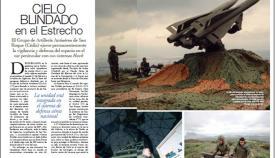 Páginas iniciales del reportaje en el número de marzo de RED