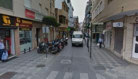 La calle Alfonso XI de Algeciras estará restringida al tráfico por obras