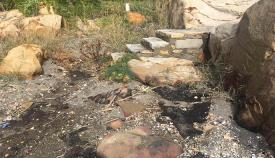 Manchas de hidrocarburo detectadas en La Chullera