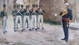 """""""Fusilamiento del general Lacy"""", de Antonio Béjar Novella"""