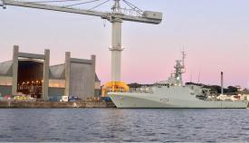 El patrullero de alta mar HMS Trent llega hoy a Gibraltar